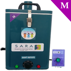 Washroom Sanitary Napkin Disposal Incinerator Machine