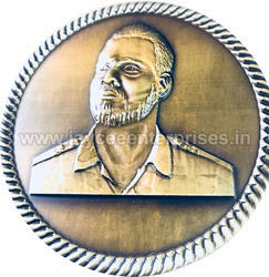 3D Face Medal