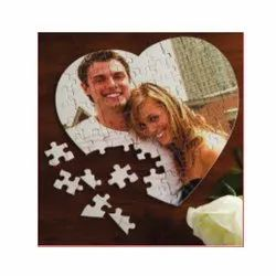 Wooden Puzzle Photo Frame