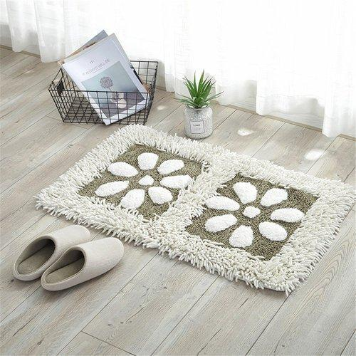 Cotton Fl Bathroom Rugs At Rs 949