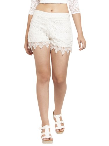 Martini White Lace Shorts Rs 586 Piece Rubicon Exim Private