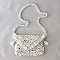 Fashionable Designer Macrame Clutch Handbags