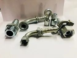 Non Skiving hydraulic fittings