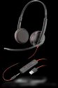 Plantronics Blackwire 3225 USB-A & 3.5mm Headset