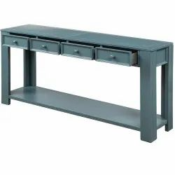 Wooden Contemporary Console Table, For Home