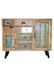 Available In Many Colors Reclaimed Wooden Cabinet