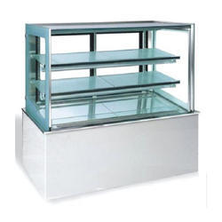 Glass And Stainless Steel Display Counter