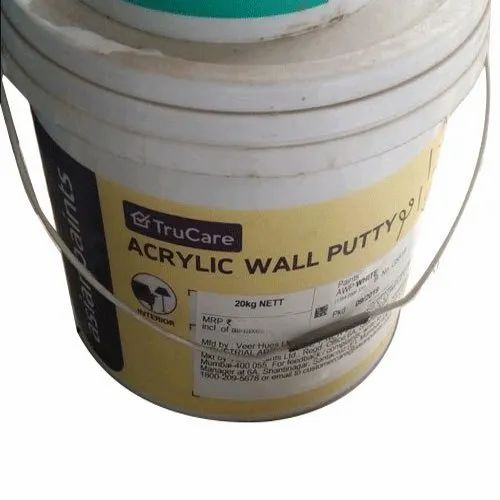 Asian Paint White Acrylic Wall Putty Packaging Size 20 Kg Rs 400 Kg Id 21800621855