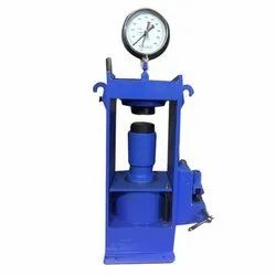 Model Hand Operated Compressor Testing Machine 100 Ton Plate