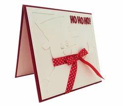 Handmade Snowman Christmas Card