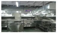 Complete Kitchen Ventilation System