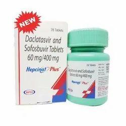 Daclatasvir and Sofosbuvir Tablets