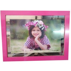 Rectangle Pink Decorative Photo Frame, Packaging Type: Box