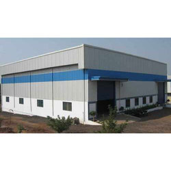 Iron Hot Rolled Prefabricated Storage Building for Warehouse, Thickness: 6 To 25 mm
