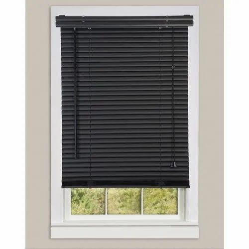 PVC Black Window Blinds