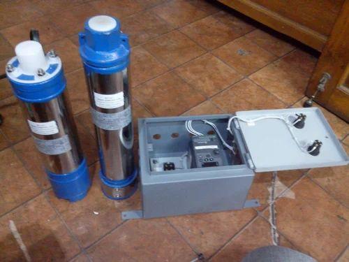 Solar Borewell Submersible Pump - 1Hp 110V Solar Submersible