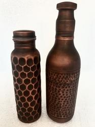 Smokey Copper Water Bottle