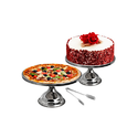 Cake And Pizza Stand/ Cake Turntable