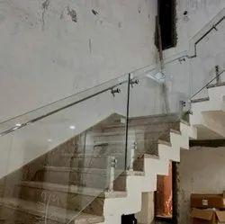 Toughened Glass Railing