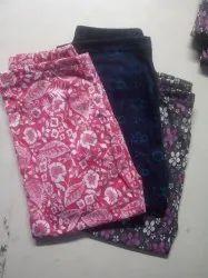 Ladies Printed Night Pants And Capri