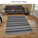 Rectangular Custome Hand Woven Rugs At Best Price For Living Areas, For Floor