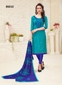 Cotton Embroidered Casual Salwar Kameez