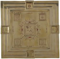 Vastu Purush Pyramid Yantra Plate