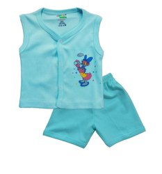 Kids Sleeveless Jabla With Pant