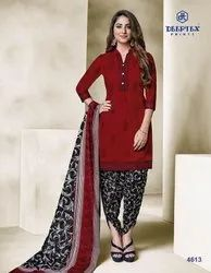 Deeptex Trendy Regular Wear Unstitched Printed Dress Material