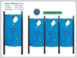 Playgrow Plastic Rock Climber for Institutional