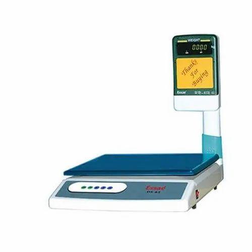 Mild Steel Essae DS-65 Counter Scale, 230v Fac,50hz