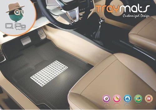 Qpo Black Beige 3d Car Mat Qpo A Brand Name Of Jaideep Plastics Id 20052215273