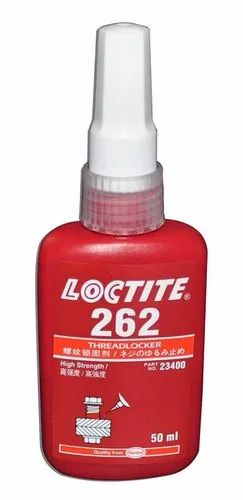 Henkel White Loctite 262, Grade Standard: Industrial Grade, Packaging Size: 50 mL