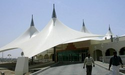 Pyramid Gazebo PVC Tensile Structure