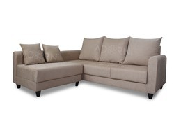 Adorn India Straight Line Modular Sofa(Beige)