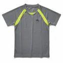 Kid Round Neck Printed Sport T-shirts