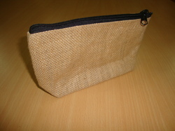 Pouch Bag With Top Zipper