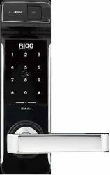 RIOO Biometric Lock, Silver