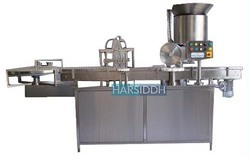 Liquid Vial Filling with Rubber Stoppering Machine