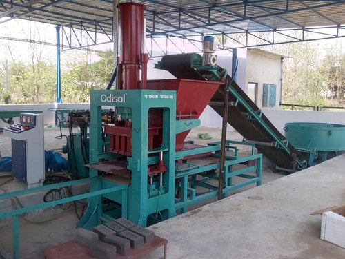 17.5 Kw Odisol Fly Ash Brick Making Machine, For Industrial