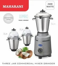 2600 Watts Commercial Fully Loaded Heavy Duty Mixer Grinder