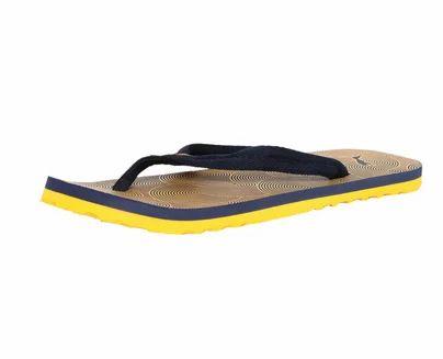 puma yellow slippers