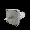 12v DC Square Gear / Geared Motor 300 RPM - High Torque