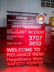 Safety Performance Display Board