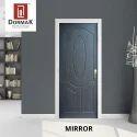 Mirror Decorative Wooden Membrane Designer Door