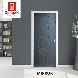 Dormak Mirror Decorative Wooden Membrane Designer Door