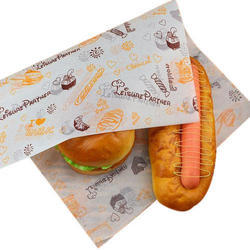 Fast Food Paper Wrap
