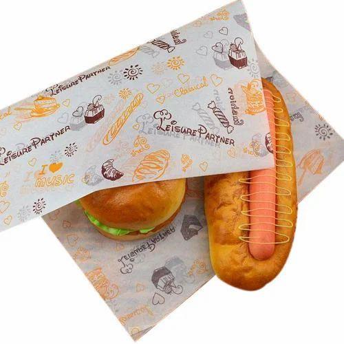fast food paper