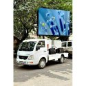 P6 Full Color Outdoor LED Billboard Mobile Advertising Trucks For Sale