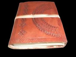 Embossed Handmade Leather Diary